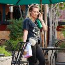 Hilary Duff – Visiting the gym in Sherman Oaks