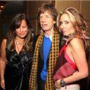 Tara Bernard & Jade Jagger Host Christmas Party - 454 x 420