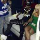 Blac Chyna, Tyga, Chris Brown, and Karrueche at the 2013 BET Awards Afterparty at Belasco in Los Angeles , California - June 30, 2013 - 454 x 454
