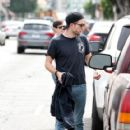 Robert Pattinson Out in LA (March 16, 2015 )