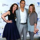 Andie MacDowell, Daniel Sunjata and Ashley Williams attend the screening of the Lifetime Original Movie Patricia Cornwell's The Front at Hearst Tower on April 7, 2010 in New York City - 420 x 594