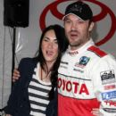 Megan Fox & Brian Austin Green - Toyota Grand Prix Pro / Celebrity Race Day (4/17/10)