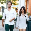 Kourtney Kardashian and Scott Disick out for sushi at Sugarfish in Calabasas (August 12)