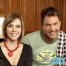 Leanza Cornett and Mark Steines