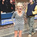 Kristin Chenoweth At David Letterman Show In New York City