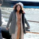 Priyanka Chopra – On location with the cast of Quantico in New York City