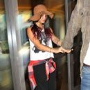 Vanessa and Austin  went to the movies in Sherman Oaks, California on July 20, 2012 to see The Dark Knight