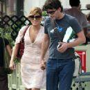 Eva Mendez walks hand-in-hand with George Gargurevich