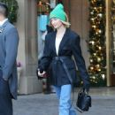 Hailey Baldwin – Leaving the Montage Hotel in Beverly Hills