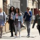 Brittany Snow DeWanda Wise and Gina Rodriguez – On the Set of 'Someone Great' in NY - 454 x 307