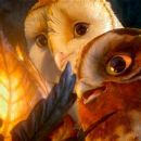 (L-r) Soren, voiced by JIM STURGESS and Gylfie, voiced by EMILY BARCLAY in Warner Bros. Pictures' and Village Roadshow Pictures' family fantasy adventure 'LEGEND OF THE GUARDIANS: THE OWLS OF GA'HOOLE,' a Warner Bros. Pictures release. - 454 x 193
