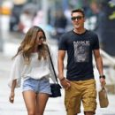 Mesut Özil and Mandy Grace Capristo