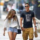 Mesut Özil and Mandy Grace Capristo