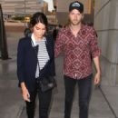 Nikki Reed and Paul McDonald arriving at the Staples Center in Los Angeles, CA (May 3)