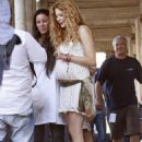Rachelle Lefevre - On The Set Of