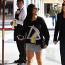 Christina Milian  out to lunch with friends at Il Pastaio in Beverly Hills, California on January 11, 2017 - 421 x 600