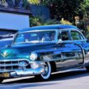 Dita Von Teese – Takes her clean classic Chevy for a cruise in Los Angeles - 454 x 302