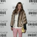 Olivia Palermo: at London Fashion Week
