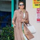 Eva Mendes Out and About In Santa Monica