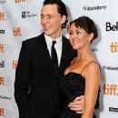 Susannah Fielding and Tom Hiddleston