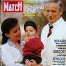 Yves Montand - Paris Match Magazine Cover [France] (2 November 1989)