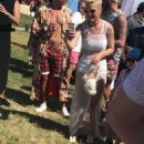 Katy Perry at her Easter Sunday Coachella Brunch in Thermal
