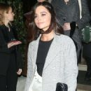 Jenna Coleman and Dianna Agron – Seen outside the BAFTA Vogue x Tiffany afterparty in London