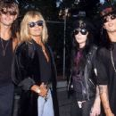 Motley Crue at the 1990 MTV Awards - 454 x 300