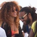 Rihanna and Negus Sealy