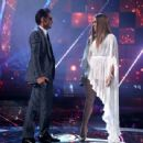 Jennifer Lopez and Marc Anthony- The 17th Annual Latin Grammy Awards - Show - 454 x 342