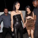 Kendall Jenner and Kylie Jenner – night out at The Nice Guy in West Hollywood