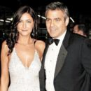 George Clooney and Lisa Snowden - 454 x 393