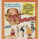 Top Banana 1951 Broadway Show Phil Silvers,Johnny Mercer