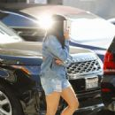 Ariel Winter in Jeans Shorts – Visit Nine Zero One salon in West Hollywood