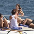 Selena Gomez in Bikini on a boat in Sydney Harbour adds