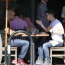Joe Jonas goes to lunch