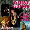 Randy Rhoads, Tony Iommi, Zakk Wylde, Jake E. Lee - Young Guitar Magazine Cover [Japan] (December 1991)