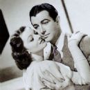 Robert Taylor and Myrna Loy