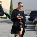 Hailey Bieber – leaves a Pilates class in West Hollywood