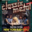 Mark Mendoza, A.J. Pero, Eddie Ojeda, Jay Jay French, Dee Snider - Classix Metal Magazine Cover [Italy] (October 2012)