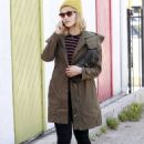 Dianna Agron: headed to Kate Somerville in West Hollywood