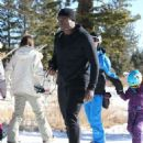 Seal is spotted out and about at the Mammoth Mountain Resort in Mammoth, California on December 29, 2014