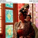 Left: Gong Li as the Empress; Right: Qin Junjie as Prince Cheng. Photo by: Ms. Bai Xiaoyan © Film Partner International Inc. Courtesy of Sony Pictures Classics, all right reserved.