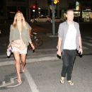 Bar Refaeli & David Fisher's Tel Aviv Date Night