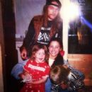 Axl Rose & Erin Everly in 1990