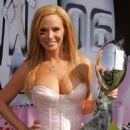 Cindy Margolis - Lingerie Bowl Media Day 2006