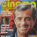 Jean-Paul Belmondo - Cinema Magazine Cover [Germany] (February 1982)