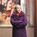 Kiernan Shipka – Filming 'The Chilling Adventures of Sabrina' in Vancouver - 454 x 565