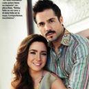 José Ron and Ariadne Díaz- People En Espanol Magazine September 2013 - 245 x 351