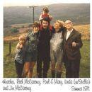 Heather,Ruth,Paul,Linda,Mary and Jim McCartney